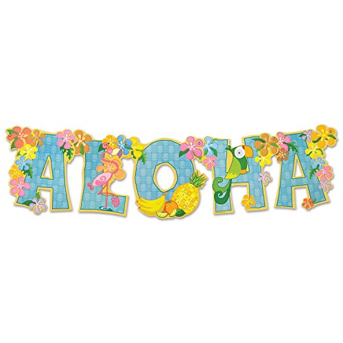 Aloha Streamer Party Accessory (Value 2-Pack)