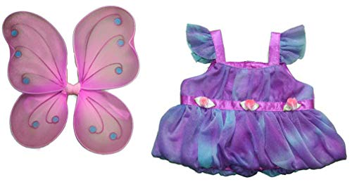 Fairy Butterfly Costume Outfit Teddy Bear Clothes Fits Most 14