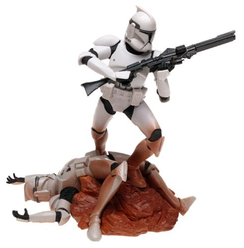 Star Wars Unleashed Action Figure Clone Trooper All White