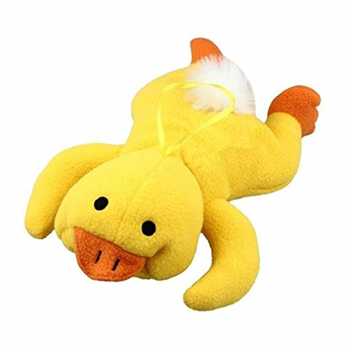Amberetech Lovely Animal Infant Baby Bottle Cover Feeder Bottle Keep Warm Holder, Yellow Duck