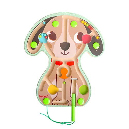 Magnetic Board Maze Puppy -Wooen Puzzle Toy for Kids