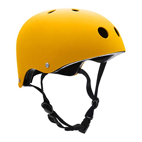 FerDIM Skateboard Helmet Kids Youth Adult, Bike Helmet CPSC Certified for Skate Scooter Rollerblade Roller Skate Bicycle Cycling BMX Inline Skating Skiing Climbing Longboard with Removable Liner