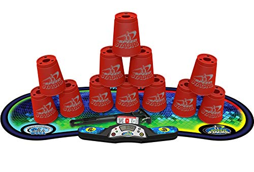 Speed Stacks Competitor Sport Stacking Set, Red, Model Number: 96002