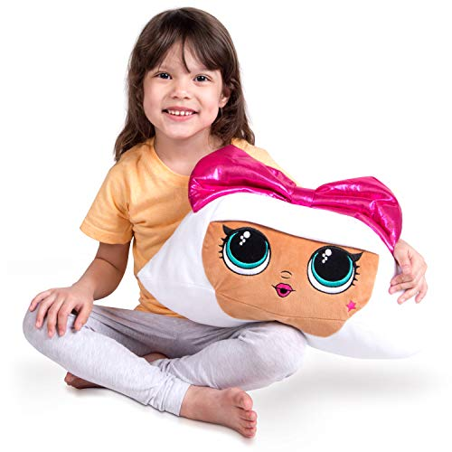 Franco Kids Bedding Super Soft Plush Cuddle Pillow Buddy, One Size, LOL Surprise Diva