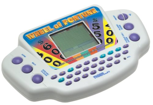 Hasbro Gaming Wheel of Fortune Handheld Electronic Game