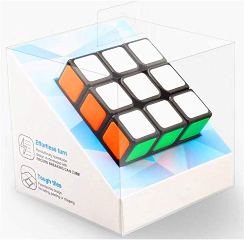 CuberSpeed Gans Speed Cube 3x3 Speed Cube GAN RSC 3x3x3 Speed Cube (2020 Version with Gan Logo)