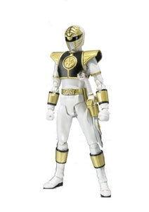 "Bandai Tamashii Nations ""Mighty Morphin Power Rangers White Ranger S.H. Figuarts Action Figure"
