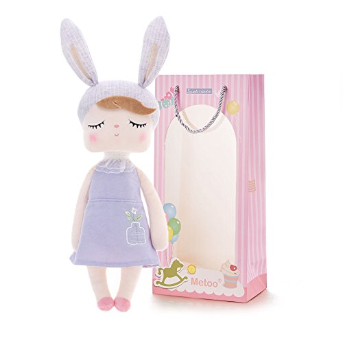 Plush Baby Bunny Doll Girl Gifts Soft First Dolls Easter Angela Girls Toy 13