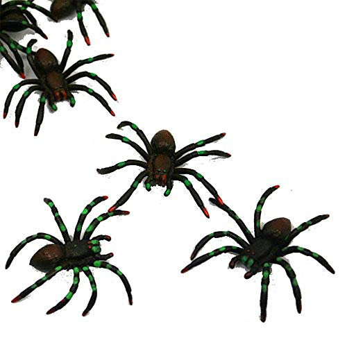 U.S. Toy Painted Spiders : Package of 12, Black