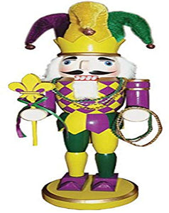 Santa's Workshop 70223 Mardi Gras Nutcracker, 14.5""