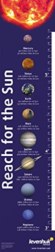 Levenhuk Reach for The Sun Educational Growth Chart – a Fun Way to Learn All The Planets of The Solar System