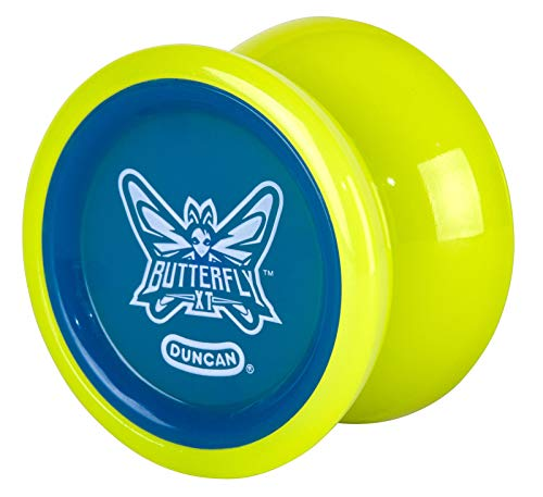 Butterfly XT Duncan Lime Green with Blue Cap Yo Yo