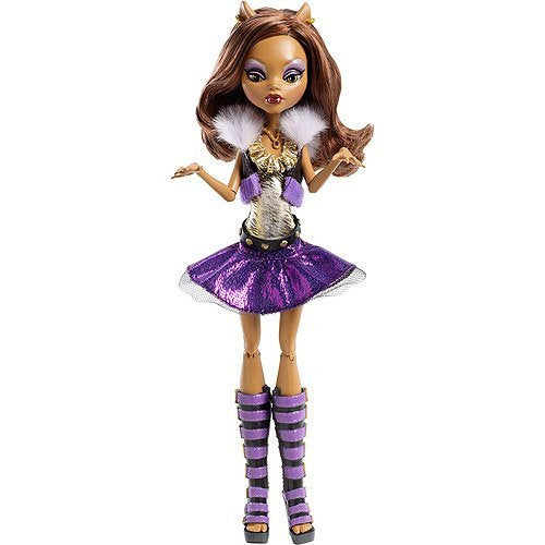 Monster High Ghoul\'s Alive! Clawdeen Wolf Doll