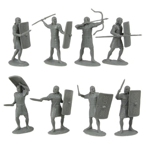 Ancient Roman Soldiers: 20 piece set of 60mm Figures - 1:30 scale