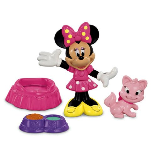 Fisher-Price Disney's Minnie and Cat Figure Pack