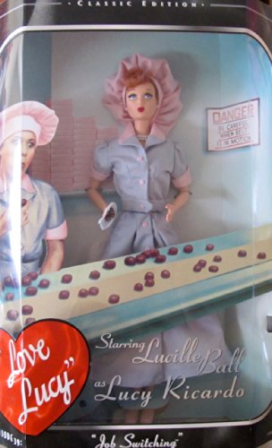 Barbie I Love Lucy Doll 'Job Switching' Episode 39 Classic Edition (1998)