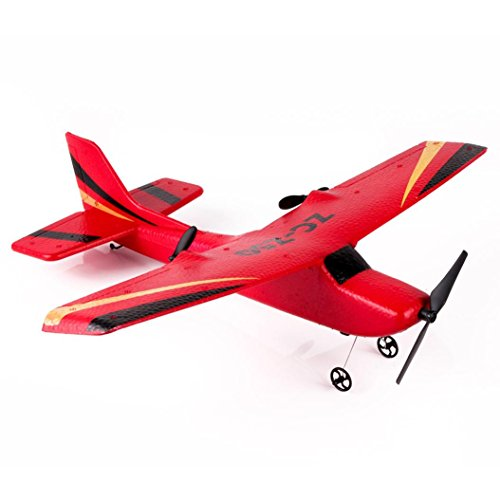 [RC Airplane] Z50 Gyro RTF Remote Control Glider RC Jet RC Planes 350mm Wingspan EPP Micro Indoor (Red)