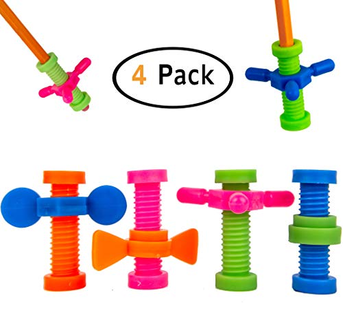 B-KIDS Pencil Fidget Toy Spinner (4 Pack)