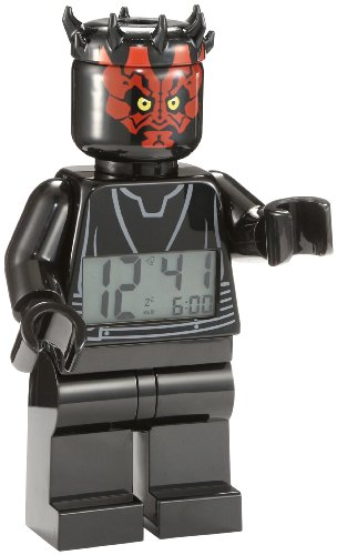 LEGO 9005596 Star Wars Darth Maul Minifigure Clock