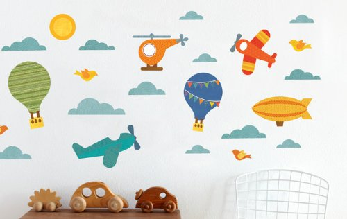 Petit Collage Wall Decal, by Air