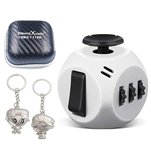 DoDoMagxanadu 6 Sides Fidget Cube Toy Relieves Stress and Anxiety