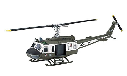 Hasegawa 00141 1/72 UH-1H Iroquois Huey Helicopter Plastic Model Kit A11