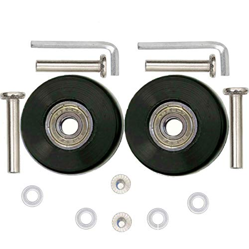 ORO 1 Pair Luggage Wheels Replacement 4018mm Case Wheels with 8mm(0.31