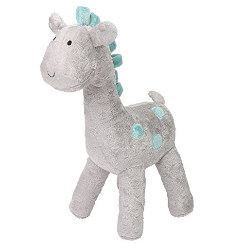 Uptown Giraffe Grey Plush Giraffe by The Peanut Shell