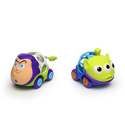 Bright Starts Toy Story Go Grippers Push Cars from Oball, Ages 12 months +