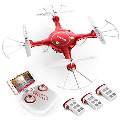 Syma Camera Drone Headless Helicopter Quadcopter Kids Toys