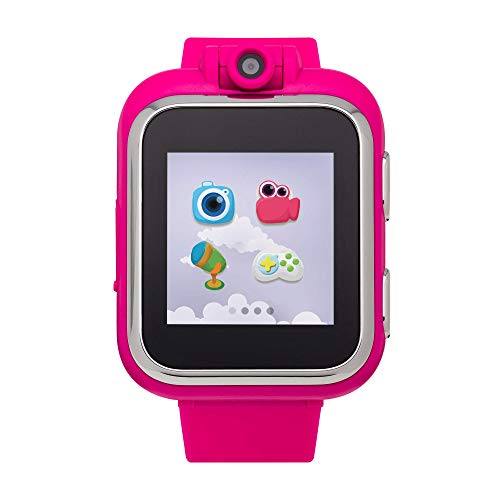 iTOUCH Playzoom Kids Smart Watch with Digital Camera and Video Recorder (Fuchsia)