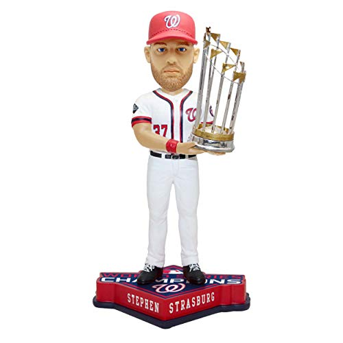 SP Images Stephen Strasburg Nationals FOCO World Series Champions 2019 Bobblehead Figure 10