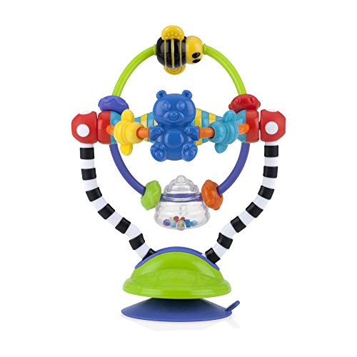 Nuby Silly Spinwheel with Suction Base High Chair Interactive Toy for Early Development