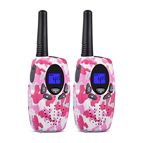 Funkprofi T628 Walkie Talkies for Kids 22 Channel Uhf FRS/GMRS 2 Way Radio, Toy for Boys and Girls Birthday, Outdoor Adventure, Camping, Hiking
