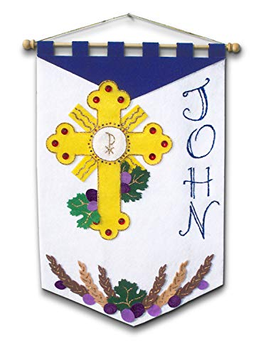 First Communion Banner Kit - 12 x 18 - Adoration