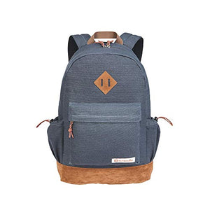Outbound Canvas Backpack | School Backpack for Boys & Girls | 17.7 Inch | Gray