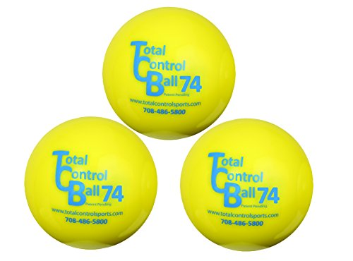 Total Control Sports Baseball (3-Pack)