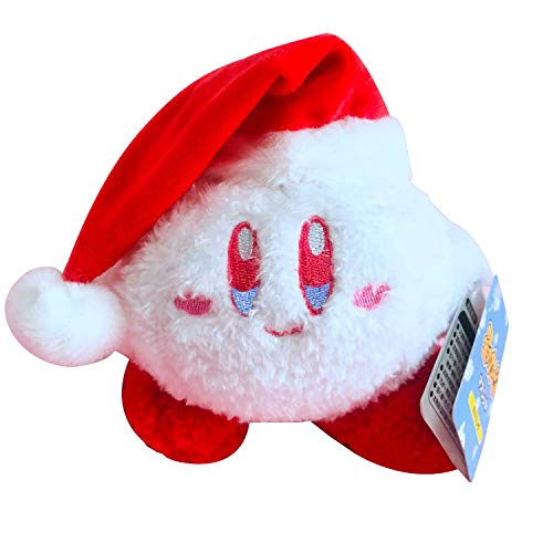 Beatrbior Kirby Stuffed Plush Limited Christmas Kirby Snowball Adventure Kirby's Dream (Christmas Kirby-2)