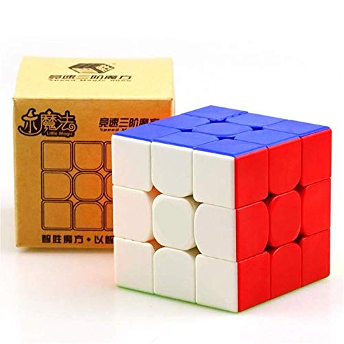 GoodPlay Yuxin Little Magic 3x3 Speed Cube Yuxin 3x3x3 Magic Cube Brain Training Toy Stickerless Puzzle Cube