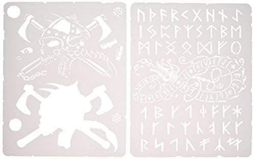 Artool Freehand Airbrush Templates, Viking  Set Mini Series