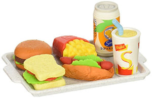 Iwako Japanese Eraser Set - Fast Food Assortment (38331)
