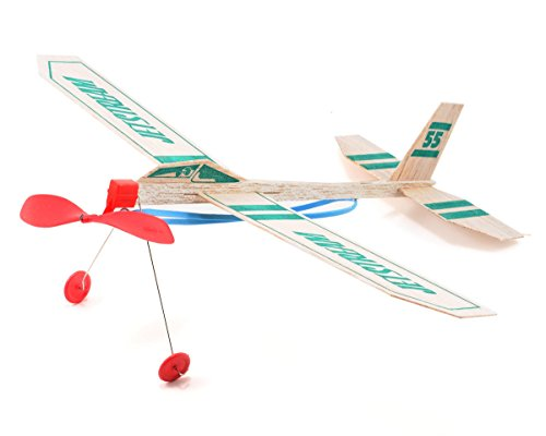 Guillow Paul K 55 Jetstream Balsa Wood Glider Plane