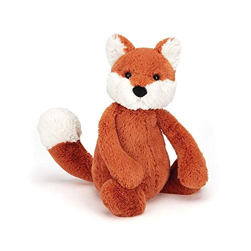 Jellycat Bashful Fox Cub Stuffed Animal, Medium, 12 inches