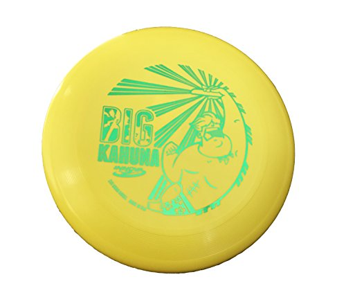Innova Big Kahuna 200 Gram Heavyweight Ultimate Throw and Catch Disc-Dude Yellow/Green