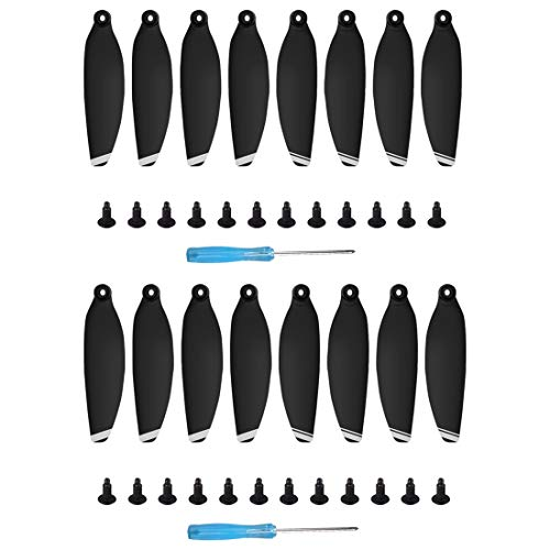 Helistar 16Pcs 4726F Propellers Foldable Low Noise Blades Compatible with DJI Mavic Mini Drone, Silver