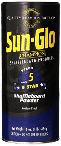 Sun-Glo #5 Shuffleboard Powder Wax (16 oz.) (Pack of 2)