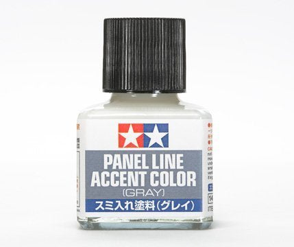 Tamiya Panel Line Accent Color for Plastic Model Kit 40ml (87133 Grey)