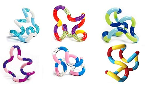 Tangle Jr. Original Classics Bulk Bundle - 6 Pack Colors As Shown