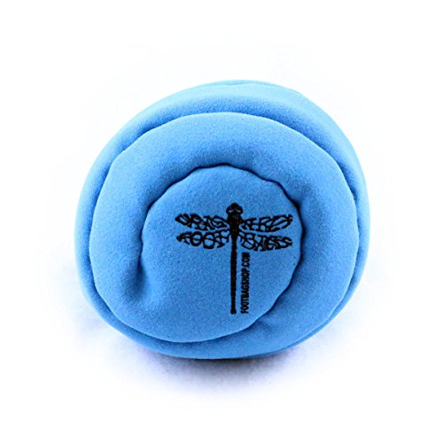 Dragonfly Footbags Whirlpool Single Panel Plastic Filled (Hacky Sack)
