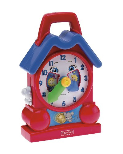Fisher Price Bright Beginnings Musical Teaching Clock